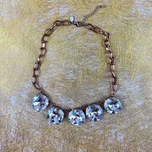 Express Rose Gold Statement Necklace